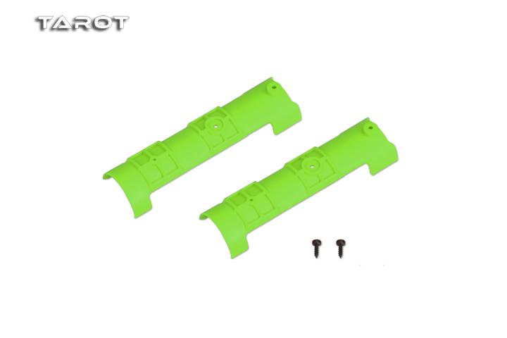 Tarot 550尾管固定夹片/绿 MK55017C
