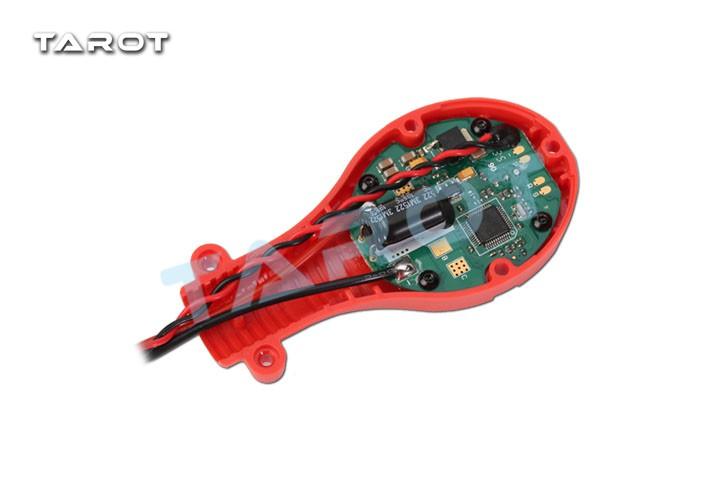好盈乐天xrotor-pro-25a-circular 多轴无刷圆形电调/红 tl2936