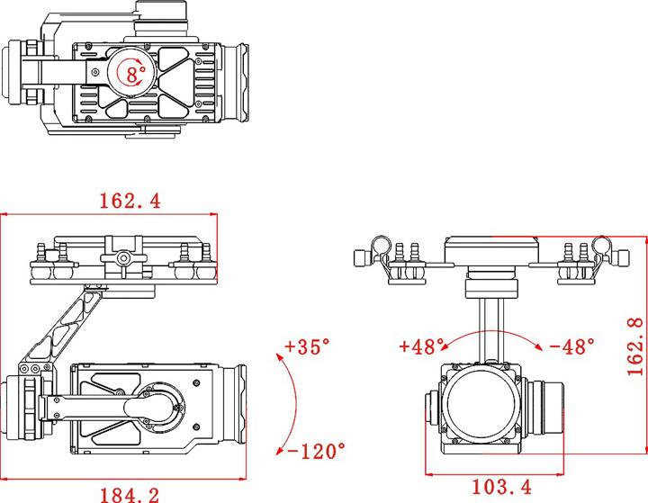 "PEEPER Z30倍高清光学变焦三轴云台专为行业应用打造,搭载专业的星光级光学变焦相机,能在低照度环境下还原更多画面细节。整体采用全CNC铝合金结构工业设计,带来轻量化和最强的稳定性。 750) this.width=750;"" alt="""" border=""0"" /> 内置30倍光学变焦镜头,光圈值:F2."